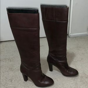Enzo Angiolini Brown Tall Boots 8